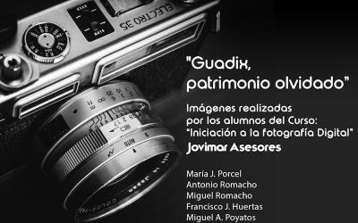 Exposición del curso de Fotografía Digital en Guadix