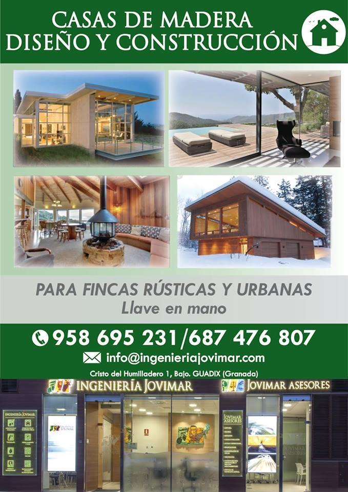 Diseño y construcción de casas de madera - Ingeniería Jovimar