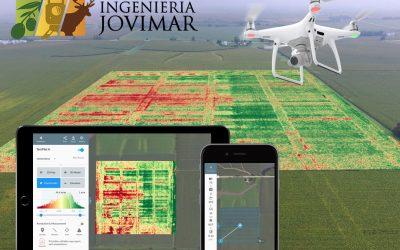 El uso de drones en la agricultura y topografía