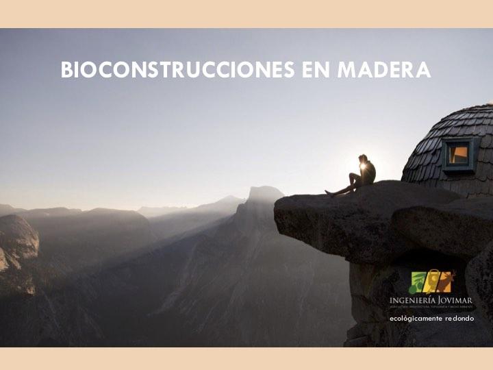 Bioconstrucciones en madera