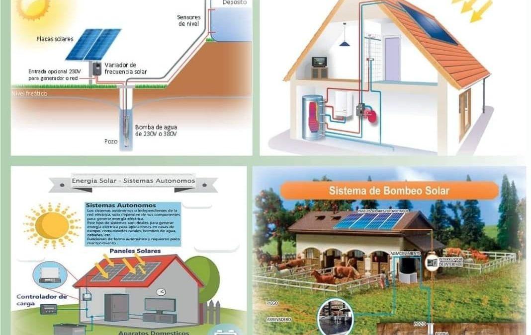 Proyectos de autoconsumo en zonas rurales